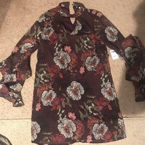 Charlotte Russe: Small maroon dress